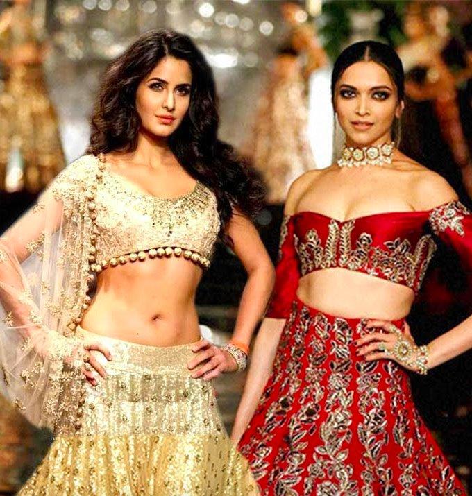 Katrina Kaif & Deepika Padukone