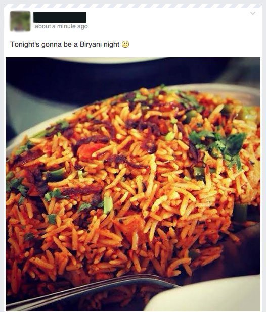 11 Signs Youre In A Relationship With Biryani