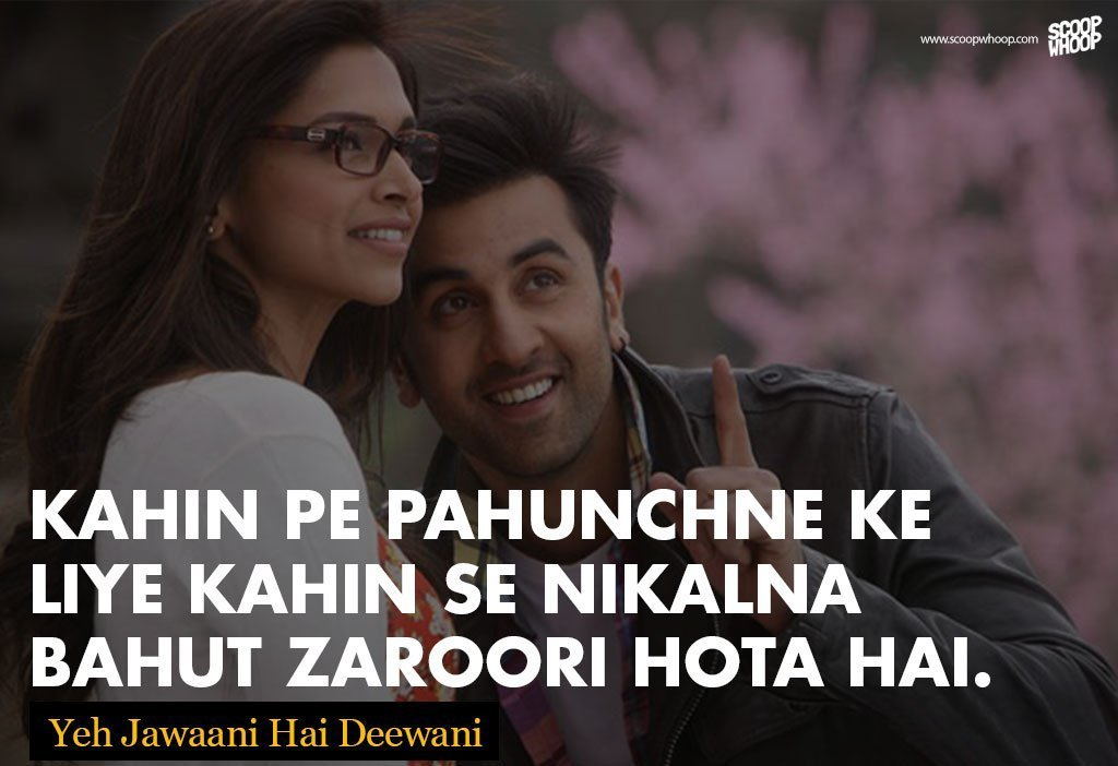 Best Love Quotes In Hindi Of All Time : 26 Not-So-Famous Bollywood Dialogues You Definitely Must Not Miss