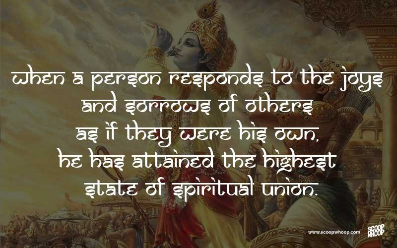 Extrêmement 30 Bhagavad Gita Quotes That Have Life Changing Lessons For All Of Us RS54