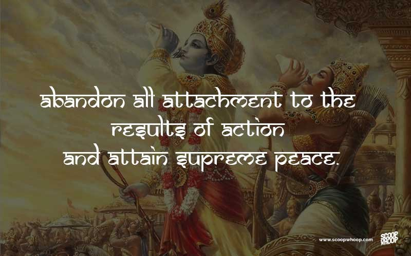30 Bhagavad Gita Quotes That Have Life Changing Lessons For All Of Us