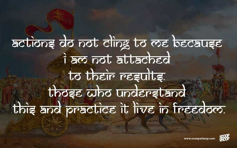 Top 30 Bhagavad Gita Quotes That Have Life Changing Lessons For All Of Us HF32