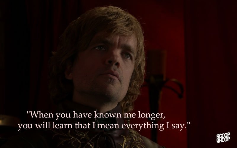 30 Game Of Thrones Dialogues That You Can Use In Everyday Situations