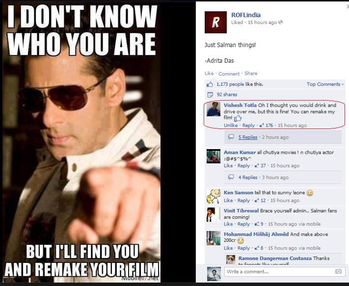 27 Hilarious Facebook Comments That Will Make You Laugh ...Funny Facebook Graphics