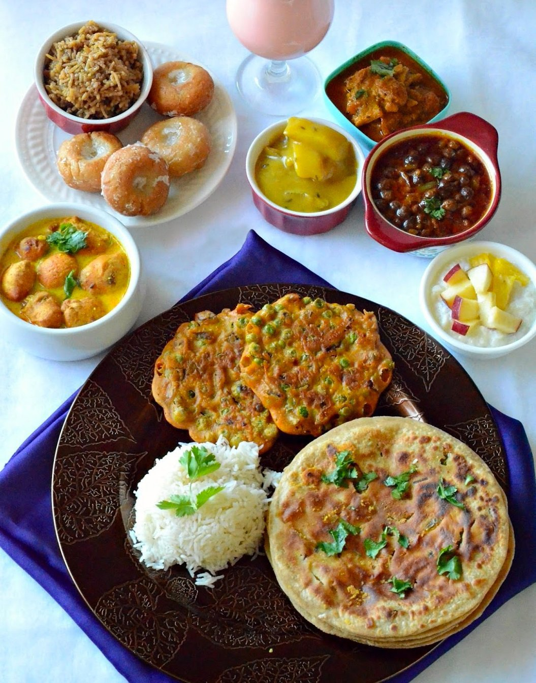 10 thalis from around india that will take you to food heaven 5 maharashtrian thali forumfinder Choice Image