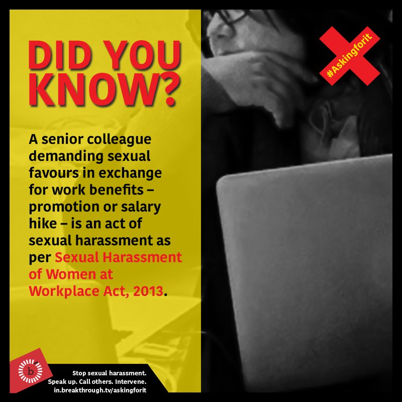 Sexual harassment in indian companies act