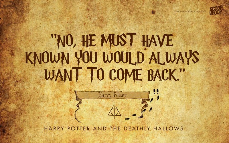 40 Quotes From The Harry Potter Series Every Fan Will Remember Fondly Simple Harry Potter Quotes